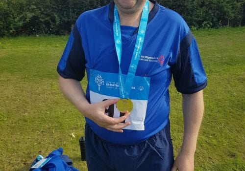 special olympic success for nigel
