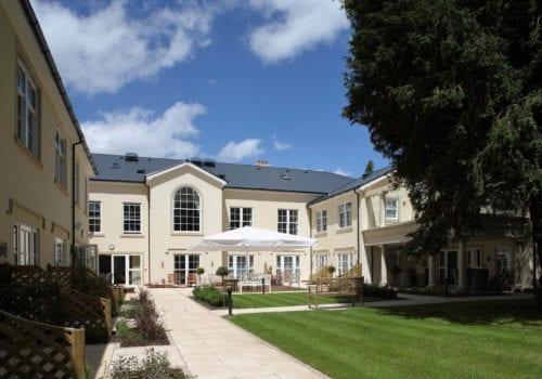 Fernhill House Care Home exterior and gardens