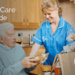 Service user and carer from Bluebird Care Dudley