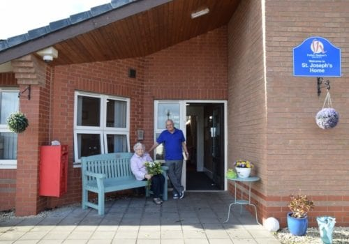 St Joseph's Care Home entrance