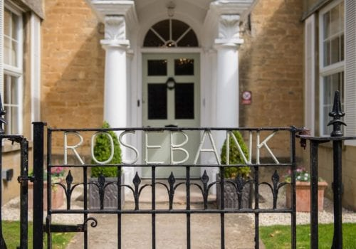 Rosebank Care Home front entrance