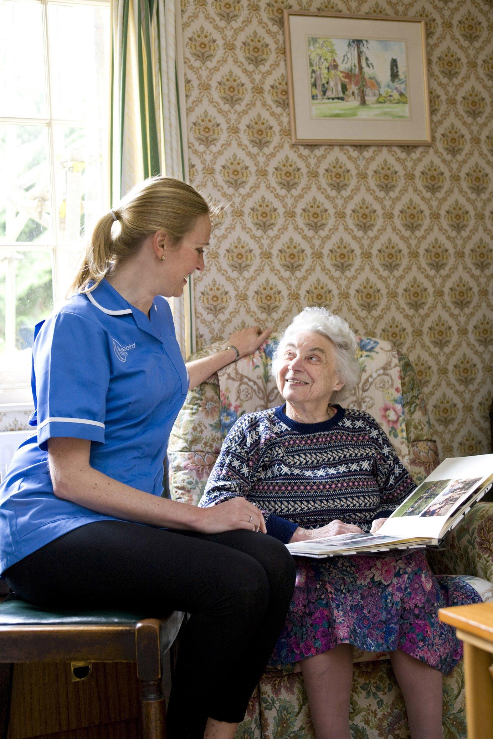 Bluebird Care Evesham Home Care Care Choices
