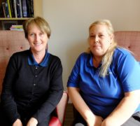 Nicole and Cherly speak about their experiences of working in care