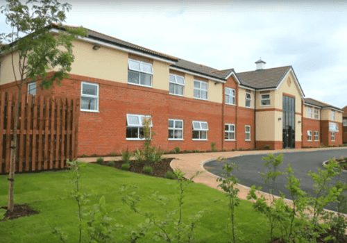 Coppice Lodge Care Home exterior