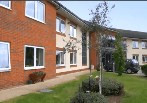 Fairway View Care Home in Bulwell exterior