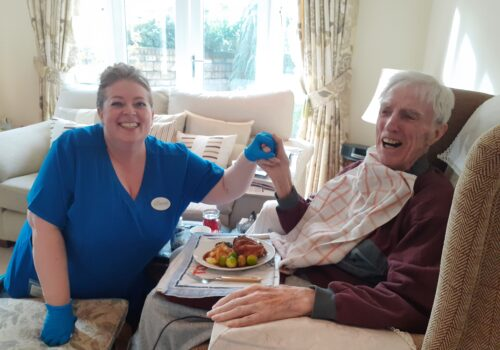 The Beeches Homecare wendy and ken
