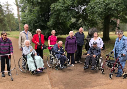 residents from Amberley Hall