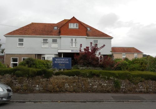 Westerley Residential care Home exterior