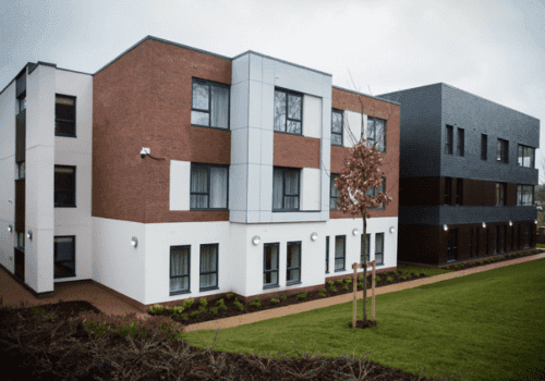 Bupa's Pebble Mill Care Home exterior