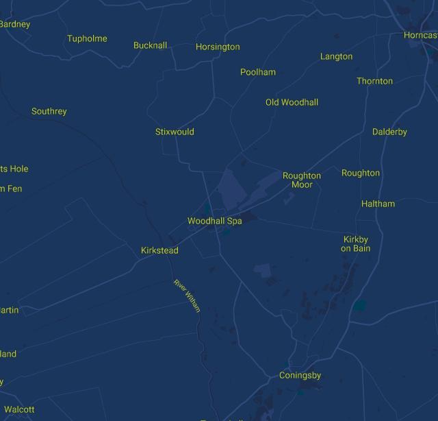 Lincolnshire Map
