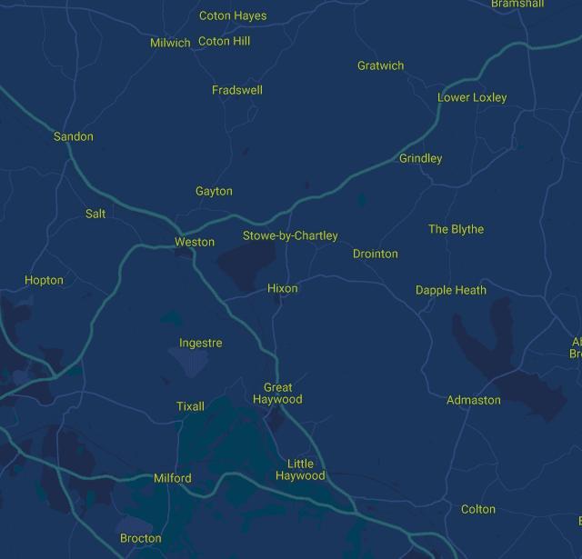 Care in Staffordshire