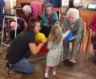 Babies And Elderly Brought Together For A Boogie Care Choices