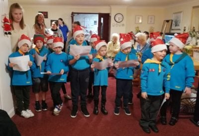 Simonsfield Beavers Sing Carols