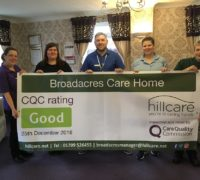 Broadacres, Rotherham care home good rating
