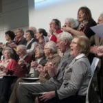 Intergenerational choir