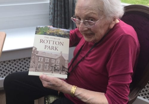 margery and her recently published Rotten Park