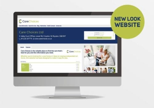 care choices new website look
