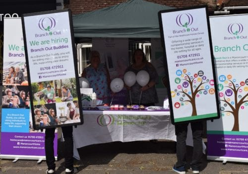 manorcourt homecare promote their new branch out scheme