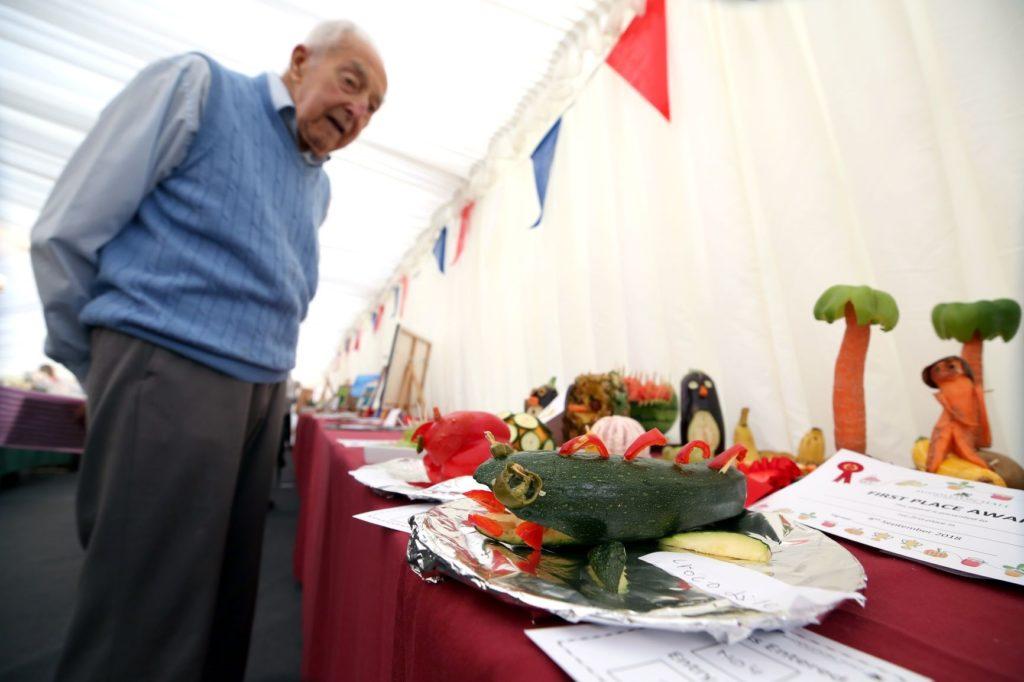 Middleton Hall Retirement show