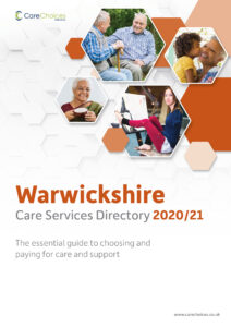 Warwickshire Care Services Directory cover