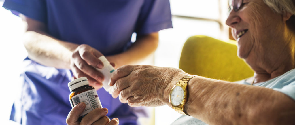 Live in carers can support with medication and other personal care needs