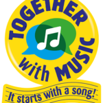 together with music logo