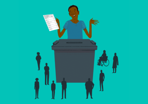Accessible Voting image