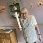 yvonne north, resident, is looking forward to judging bake off