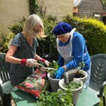 Lilian Faithful garden project