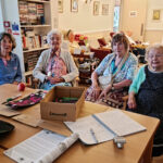 Susan (76), Gay (88), Beryl (81) and Audrey (96) whose friendship came out of the pandemic